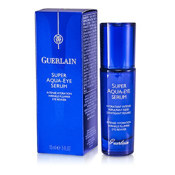 Guerlain Super Aqua Eye Serum - Intense Hydration Wrinkle Plumper Eye Reviver