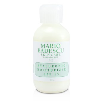 Mario Badescu Hyaluronic Moisturizer SPF 15 - For Combination/ Dry/ Sensitive Skin Types