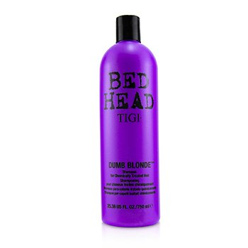 Tigi Bed Head Dumb Blonde Shampoo (For Chemically Treated Hair)