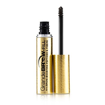 GrandeBrow Fill Volumizing Brow Gel - # Dark
