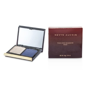 Kevyn Aucoin The Eye Shadow Duo - # 206 Taupe Shimmer / Blackened Blue Shimmer