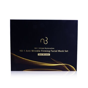 Natural Beauty NB-1 Ultime Restoration NB-1 Anti-Wrinkle Firming Facial Mask Set - Anti-Wrinkle