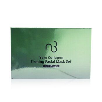 Natural Beauty Yam Collagen Firming Facial Mask Set - Anti-Wrinkle