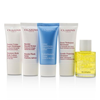 Clarins French Beauty Box: 1x Cleanser 30ml, 1x HydraQuench Cream 30ml, 1x Beauty Flash Balm 30ml, 1x Body Treatment Oil, 1x B/L