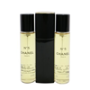 Chanel No.5 Eau De Toilette Purse Spray And 2 Refills (Limited Edition)